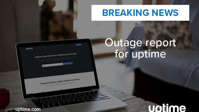 Uptime.com 2018 Outage Report News story Post Title Graphic