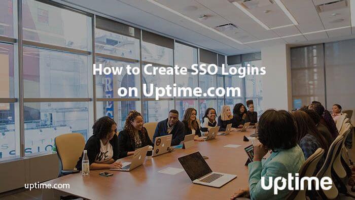 SSO Logins Uptime.com