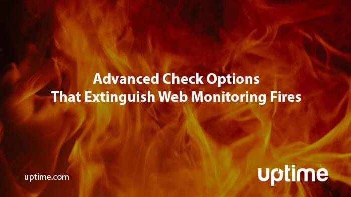 escalation maintence advanced check options