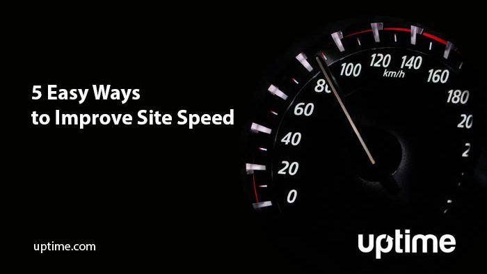 Improve site speed with Uptime.com web monitoring software