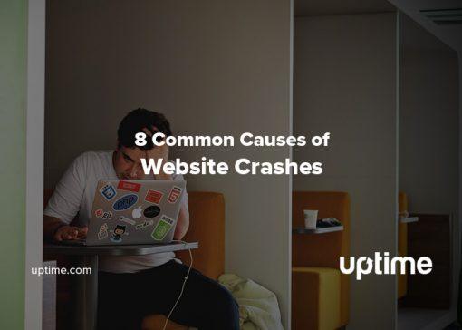 website crash blog post title graphic