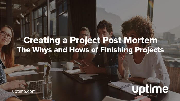 project post mortem blog post title