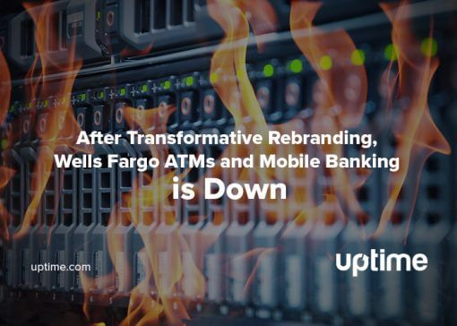 wells fargo outage blog post title