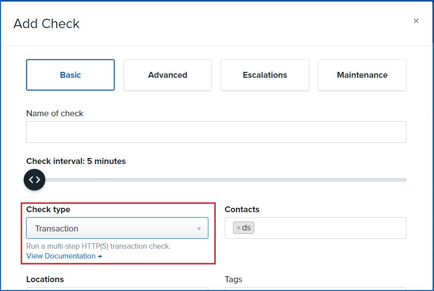 transaction check screenshot