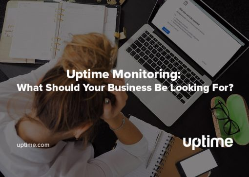 uptime monitoring uptime.com blog post title graphic