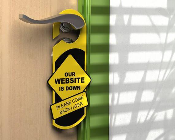 Website Down Door Hanger Website Monitoring Tools