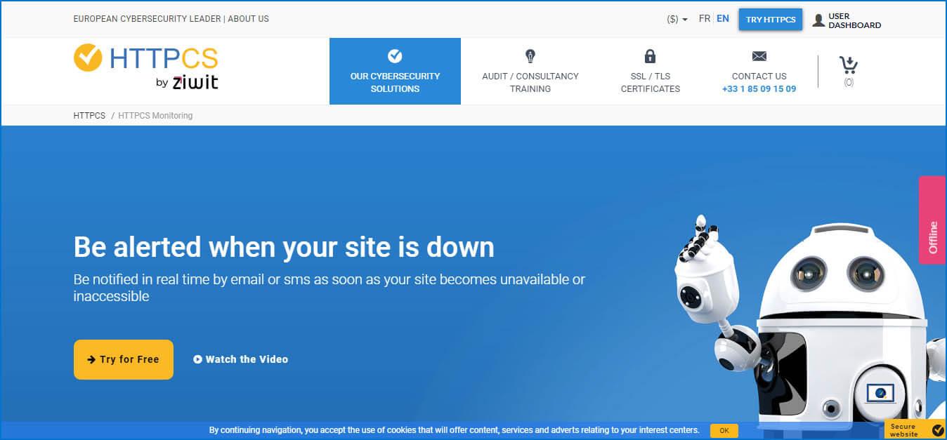 httpcs homepage