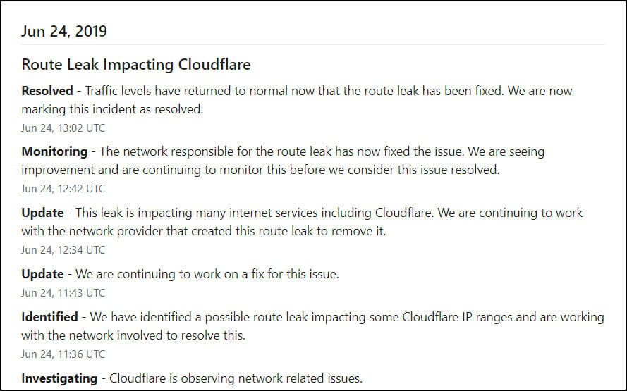 Cloudflare Outage Wreaks Havoc on Major Sites Around the World [Updated]