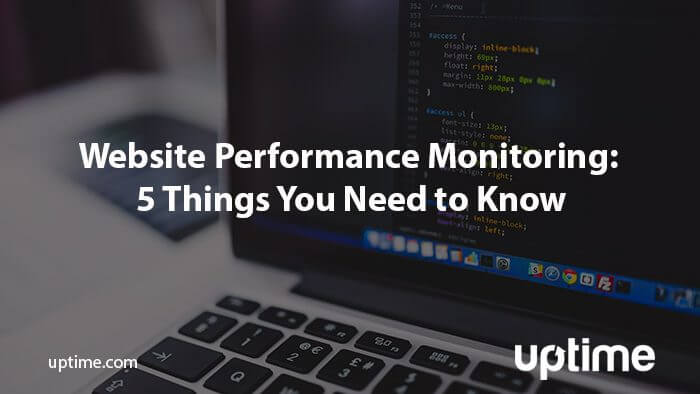 website-performance-monitoring