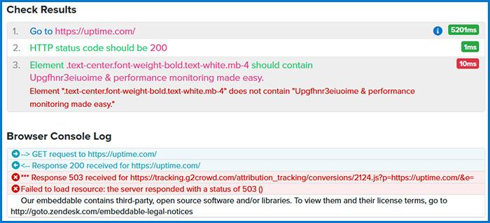 root cause analysis drilldown screenshot