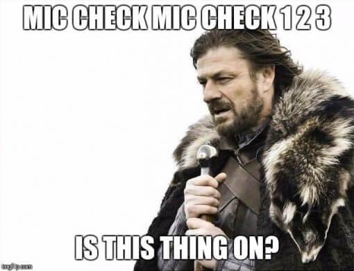 Meme emphasizing importance of performance audit