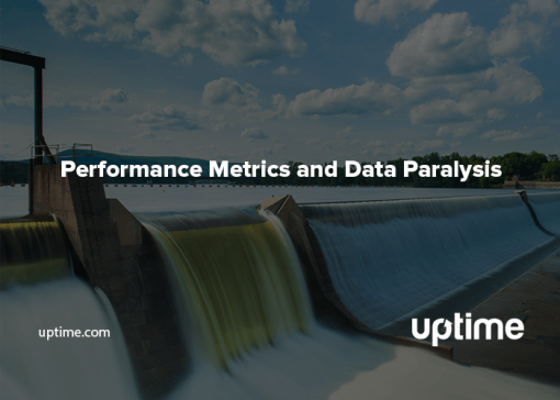 Cover image of data paralysis blog depicting a dam