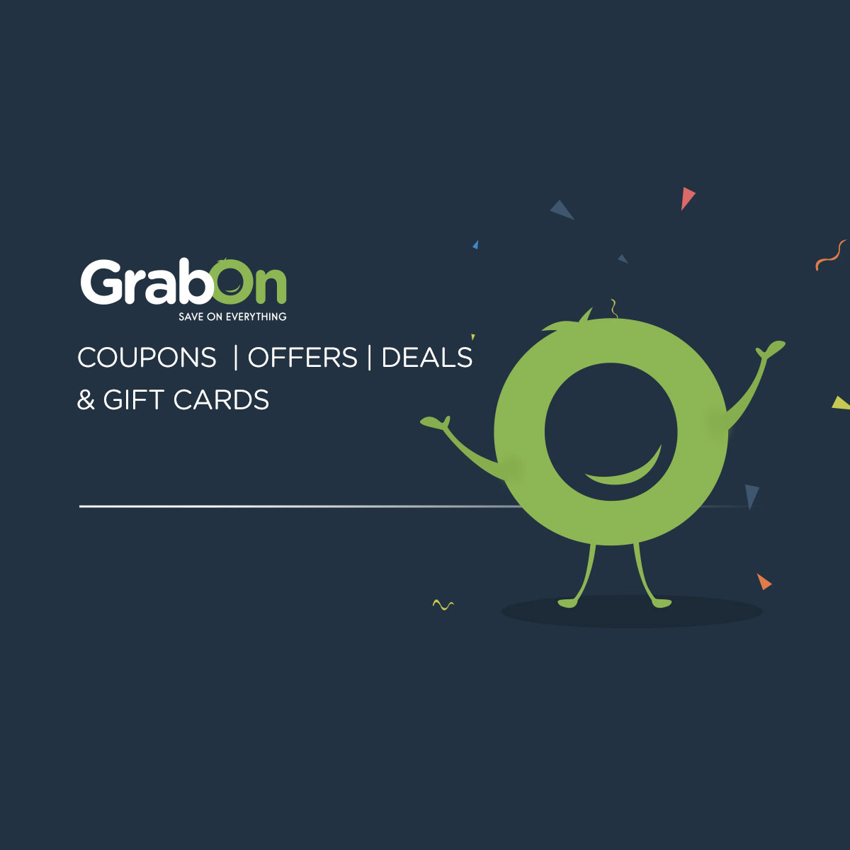 View GrabOn: Coupons, Offers, Promo Codes, Deals & Discount Gift Cards outages and uptime