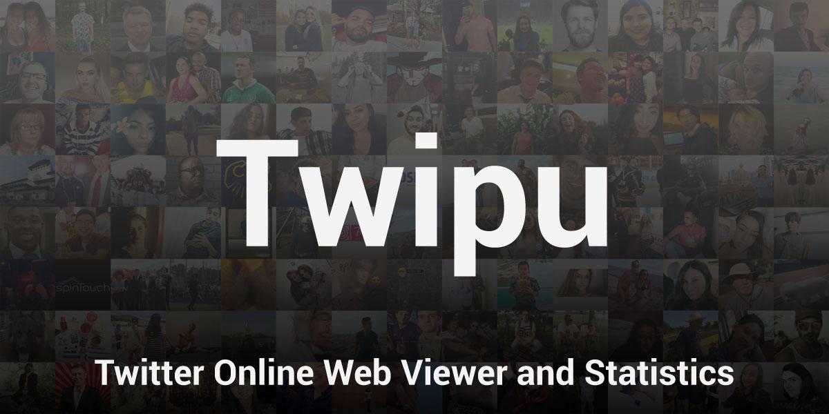Twipu twipu hashtag on Twitter